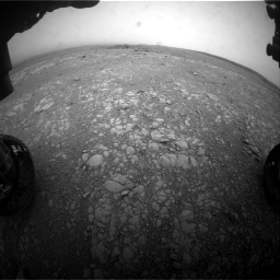 Nasa's Mars rover Curiosity acquired this image using its Front Hazard Avoidance Camera (Front Hazcam) on Sol 2104, at drive 2208, site number 71