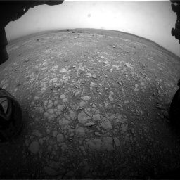 Nasa's Mars rover Curiosity acquired this image using its Front Hazard Avoidance Camera (Front Hazcam) on Sol 2104, at drive 2214, site number 71