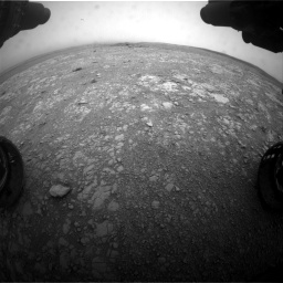 Nasa's Mars rover Curiosity acquired this image using its Front Hazard Avoidance Camera (Front Hazcam) on Sol 2104, at drive 2130, site number 71