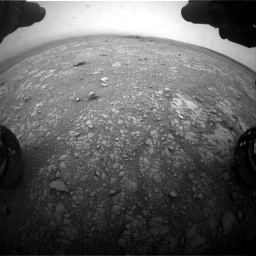 Nasa's Mars rover Curiosity acquired this image using its Front Hazard Avoidance Camera (Front Hazcam) on Sol 2104, at drive 2148, site number 71