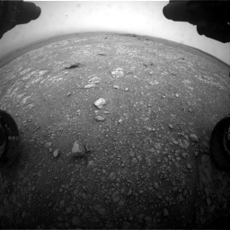 Nasa's Mars rover Curiosity acquired this image using its Front Hazard Avoidance Camera (Front Hazcam) on Sol 2104, at drive 2160, site number 71