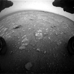 Nasa's Mars rover Curiosity acquired this image using its Front Hazard Avoidance Camera (Front Hazcam) on Sol 2104, at drive 2172, site number 71