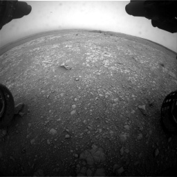 Nasa's Mars rover Curiosity acquired this image using its Front Hazard Avoidance Camera (Front Hazcam) on Sol 2104, at drive 2184, site number 71