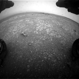 Nasa's Mars rover Curiosity acquired this image using its Front Hazard Avoidance Camera (Front Hazcam) on Sol 2104, at drive 2190, site number 71