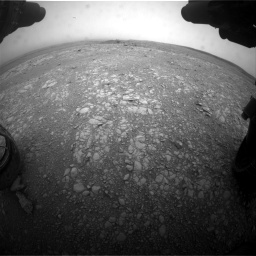 Nasa's Mars rover Curiosity acquired this image using its Front Hazard Avoidance Camera (Front Hazcam) on Sol 2104, at drive 2202, site number 71
