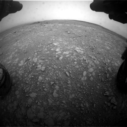 Nasa's Mars rover Curiosity acquired this image using its Front Hazard Avoidance Camera (Front Hazcam) on Sol 2104, at drive 2220, site number 71