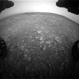 Nasa's Mars rover Curiosity acquired this image using its Front Hazard Avoidance Camera (Front Hazcam) on Sol 2104, at drive 2226, site number 71