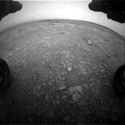 Nasa's Mars rover Curiosity acquired this image using its Front Hazard Avoidance Camera (Front Hazcam) on Sol 2104, at drive 2238, site number 71