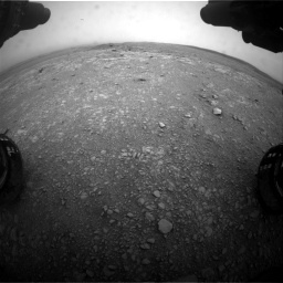 Nasa's Mars rover Curiosity acquired this image using its Front Hazard Avoidance Camera (Front Hazcam) on Sol 2104, at drive 2244, site number 71
