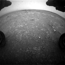 Nasa's Mars rover Curiosity acquired this image using its Front Hazard Avoidance Camera (Front Hazcam) on Sol 2104, at drive 2250, site number 71