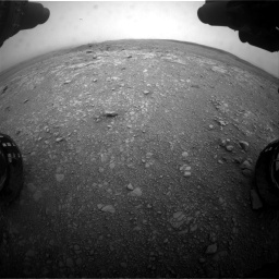 Nasa's Mars rover Curiosity acquired this image using its Front Hazard Avoidance Camera (Front Hazcam) on Sol 2104, at drive 2262, site number 71