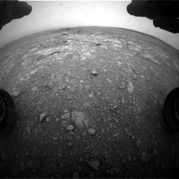 Nasa's Mars rover Curiosity acquired this image using its Front Hazard Avoidance Camera (Front Hazcam) on Sol 2104, at drive 2286, site number 71