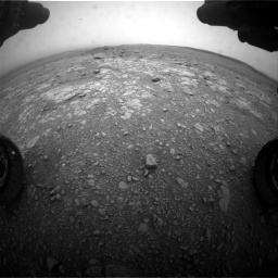 Nasa's Mars rover Curiosity acquired this image using its Front Hazard Avoidance Camera (Front Hazcam) on Sol 2104, at drive 2292, site number 71