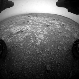 Nasa's Mars rover Curiosity acquired this image using its Front Hazard Avoidance Camera (Front Hazcam) on Sol 2104, at drive 2298, site number 71