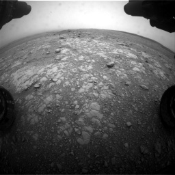 Nasa's Mars rover Curiosity acquired this image using its Front Hazard Avoidance Camera (Front Hazcam) on Sol 2104, at drive 2304, site number 71