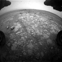 Nasa's Mars rover Curiosity acquired this image using its Front Hazard Avoidance Camera (Front Hazcam) on Sol 2104, at drive 2316, site number 71