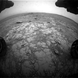Nasa's Mars rover Curiosity acquired this image using its Front Hazard Avoidance Camera (Front Hazcam) on Sol 2104, at drive 2328, site number 71