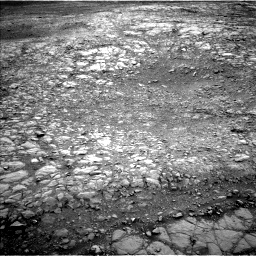 Nasa's Mars rover Curiosity acquired this image using its Left Navigation Camera on Sol 2104, at drive 1842, site number 71