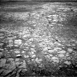 Nasa's Mars rover Curiosity acquired this image using its Left Navigation Camera on Sol 2104, at drive 1854, site number 71