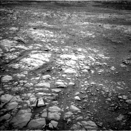 Nasa's Mars rover Curiosity acquired this image using its Left Navigation Camera on Sol 2104, at drive 1890, site number 71