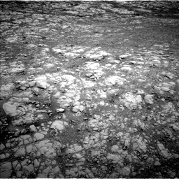 Nasa's Mars rover Curiosity acquired this image using its Left Navigation Camera on Sol 2104, at drive 1968, site number 71
