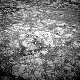 Nasa's Mars rover Curiosity acquired this image using its Left Navigation Camera on Sol 2104, at drive 1974, site number 71