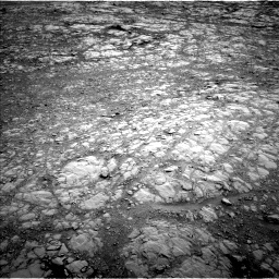 Nasa's Mars rover Curiosity acquired this image using its Left Navigation Camera on Sol 2104, at drive 1992, site number 71