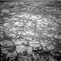 Nasa's Mars rover Curiosity acquired this image using its Left Navigation Camera on Sol 2104, at drive 2052, site number 71