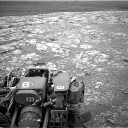 Nasa's Mars rover Curiosity acquired this image using its Left Navigation Camera on Sol 2104, at drive 2130, site number 71