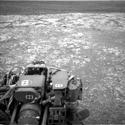 Nasa's Mars rover Curiosity acquired this image using its Left Navigation Camera on Sol 2104, at drive 2178, site number 71