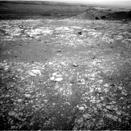 Nasa's Mars rover Curiosity acquired this image using its Left Navigation Camera on Sol 2104, at drive 2184, site number 71