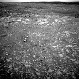 Nasa's Mars rover Curiosity acquired this image using its Left Navigation Camera on Sol 2104, at drive 2202, site number 71