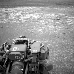 Nasa's Mars rover Curiosity acquired this image using its Left Navigation Camera on Sol 2104, at drive 2238, site number 71