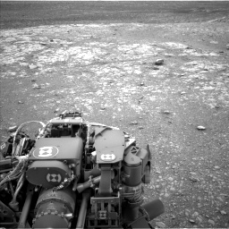 Nasa's Mars rover Curiosity acquired this image using its Left Navigation Camera on Sol 2104, at drive 2250, site number 71