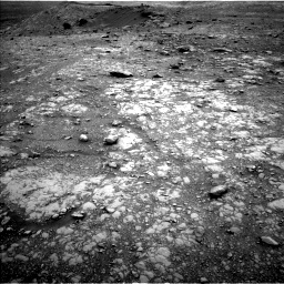 Nasa's Mars rover Curiosity acquired this image using its Left Navigation Camera on Sol 2104, at drive 2286, site number 71