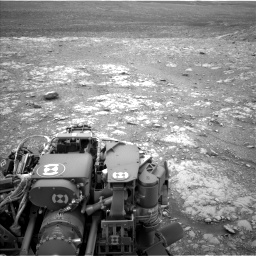 Nasa's Mars rover Curiosity acquired this image using its Left Navigation Camera on Sol 2104, at drive 2292, site number 71