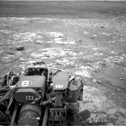 Nasa's Mars rover Curiosity acquired this image using its Left Navigation Camera on Sol 2104, at drive 2298, site number 71