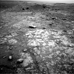 Nasa's Mars rover Curiosity acquired this image using its Left Navigation Camera on Sol 2104, at drive 2310, site number 71