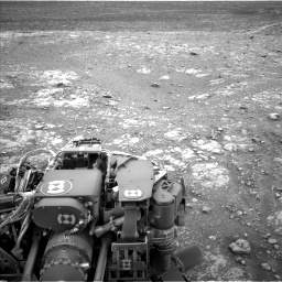 Nasa's Mars rover Curiosity acquired this image using its Left Navigation Camera on Sol 2104, at drive 2316, site number 71