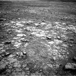 Nasa's Mars rover Curiosity acquired this image using its Left Navigation Camera on Sol 2104, at drive 2322, site number 71