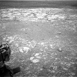 Nasa's Mars rover Curiosity acquired this image using its Right Navigation Camera on Sol 2104, at drive 2208, site number 71