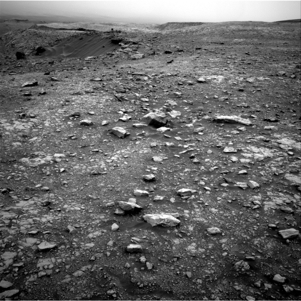 Nasa's Mars rover Curiosity acquired this image using its Right Navigation Camera on Sol 2104, at drive 2350, site number 71