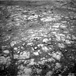 Nasa's Mars rover Curiosity acquired this image using its Left Navigation Camera on Sol 2107, at drive 2410, site number 71