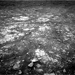 Nasa's Mars rover Curiosity acquired this image using its Left Navigation Camera on Sol 2107, at drive 2614, site number 71