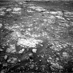 Nasa's Mars rover Curiosity acquired this image using its Left Navigation Camera on Sol 2107, at drive 2740, site number 71