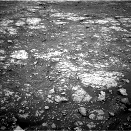 Nasa's Mars rover Curiosity acquired this image using its Left Navigation Camera on Sol 2107, at drive 2752, site number 71