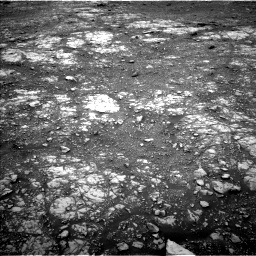Nasa's Mars rover Curiosity acquired this image using its Left Navigation Camera on Sol 2107, at drive 2758, site number 71