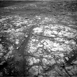 Nasa's Mars rover Curiosity acquired this image using its Left Navigation Camera on Sol 2107, at drive 2794, site number 71