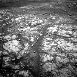 Nasa's Mars rover Curiosity acquired this image using its Left Navigation Camera on Sol 2107, at drive 2800, site number 71