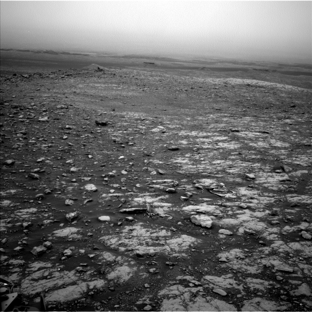 Nasa's Mars rover Curiosity acquired this image using its Left Navigation Camera on Sol 2107, at drive 2804, site number 71